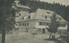 Železničarski dom nekdaj