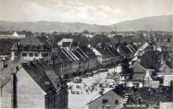Pogled na Glavni trg pred 2.vojno