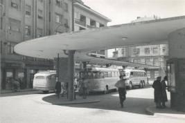 Nekdanja avtobusna postaja na Glavnem trgu