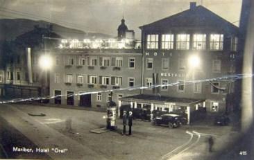 Hotel Orel pred 2.vojno
