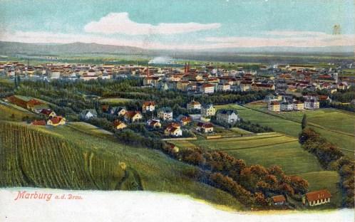 Pogled iz Kalvarije pred I.vojno