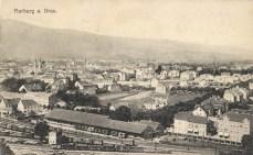 Železniška skladišča ob Partizanski, nekdaj
