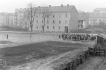 Nogometno igrišče ob Mlinski ulici leta 1959