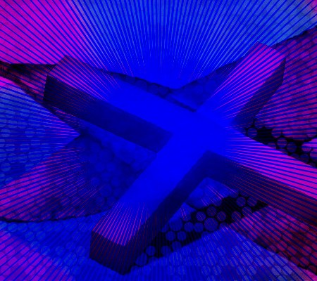 Križ s pentljo, Digitalna slika: Tanja Jerebic