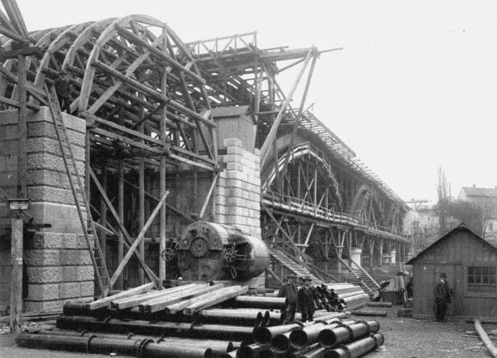 gradnja mostu