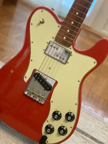 Fender Vintera Custom FRD