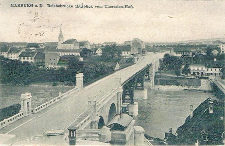 Marburg-adDrau-Reichsbrücke-1913