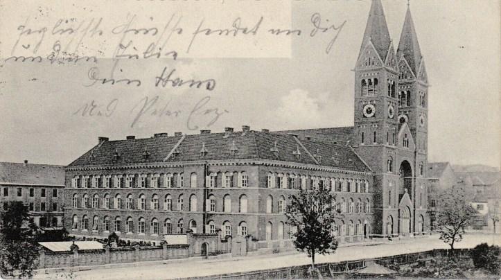 franciskanska kloster 1905