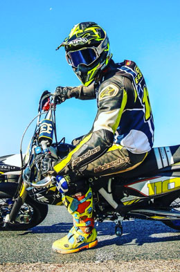 Chris Eastwood (Supermoto Champion)