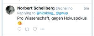 schellberg homöopathie hokuspokus