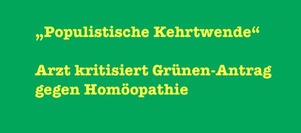 homöopathie arzt