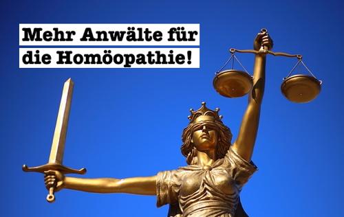 homöopathie anwälte