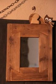 specchio con gatto