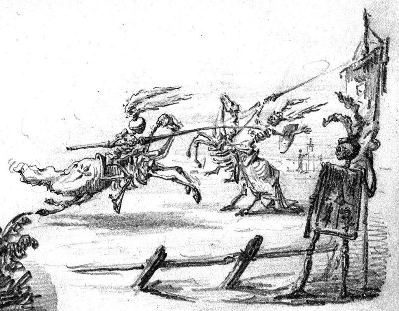 Los dibujos de Bécquer