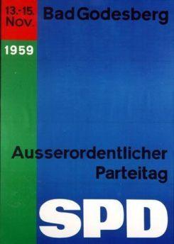 SPD Plakat Godesberger Programm 1959