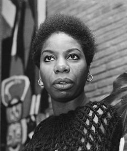 Nina SImone by Kroon, Ron / Anefo [CC BY-SA 3.0 nl (http://creativecommons.org/licenses/by-sa/3.0/nl/deed.en)], via Wikimedia Commons