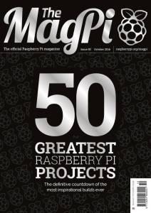 Εξώφυλλο 50ου τεύχους του MagPi