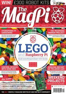 Εξώφυλλο 62ου τεύχους MagPi (Οκτ. 2017)