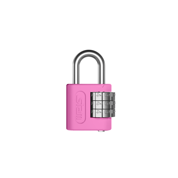 Zamac com segredo 25mm Rosa