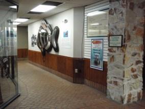 Hallway to exhibits