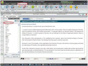 materia medica software