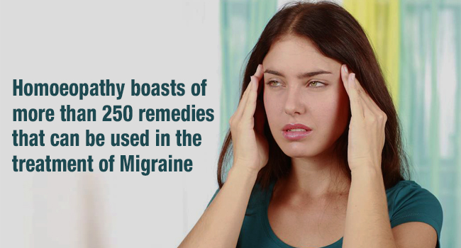 Homeopathy for migrane