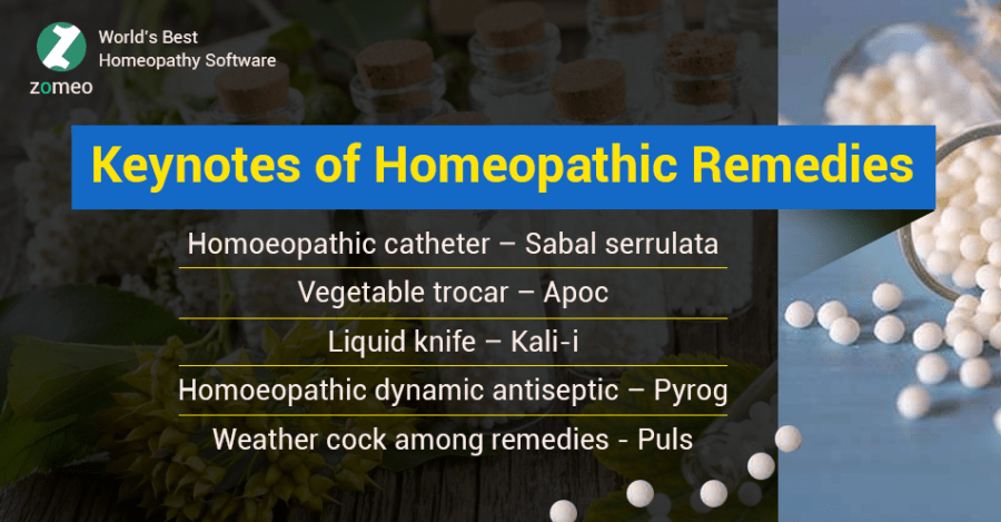 Keynotes Homeopathic Remedies