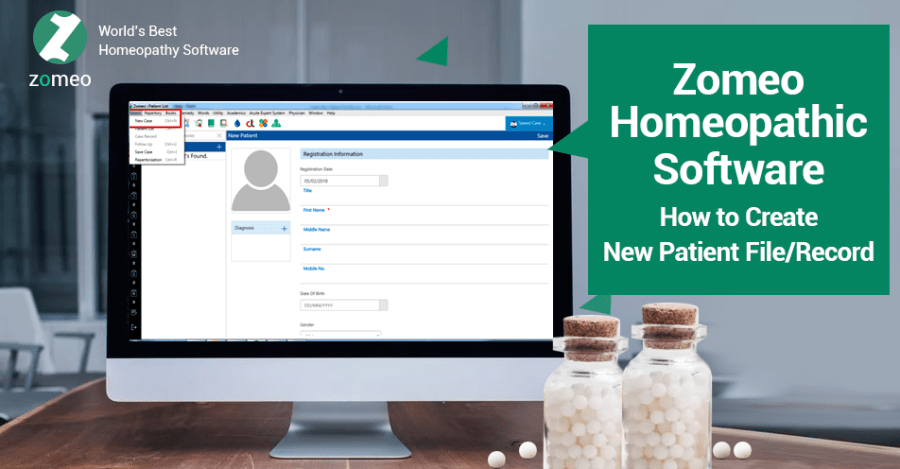 Zomeo Homeopathic Software