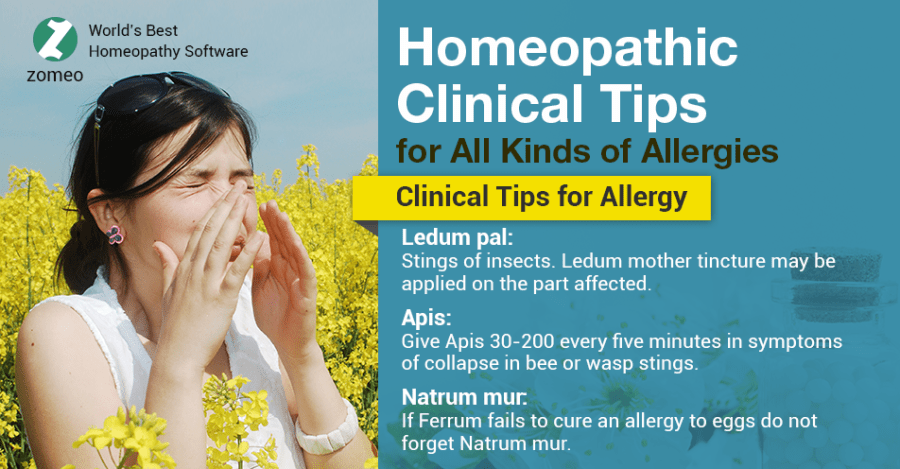Allergy - Homeopathic Tips