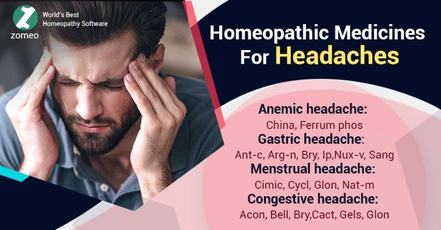 Homeopathic Medicines Headaches