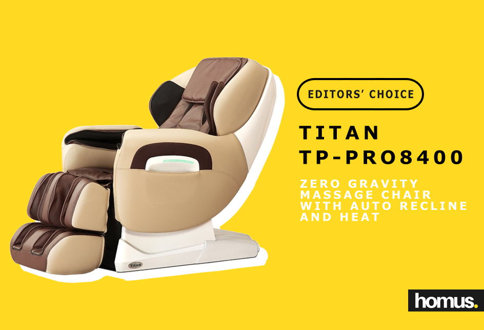 Titan TPPRO8400D Model TP-Pro 8400 Massage Chair winner