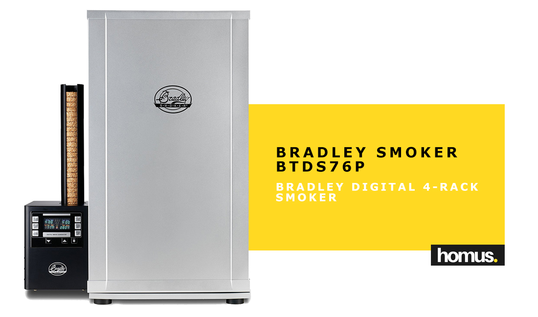 Bradley Smoker BTDS76P Bradley Digital 4-Rack Smoker