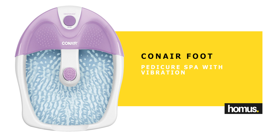 Conair Foot Pedicure Spa with Vibration