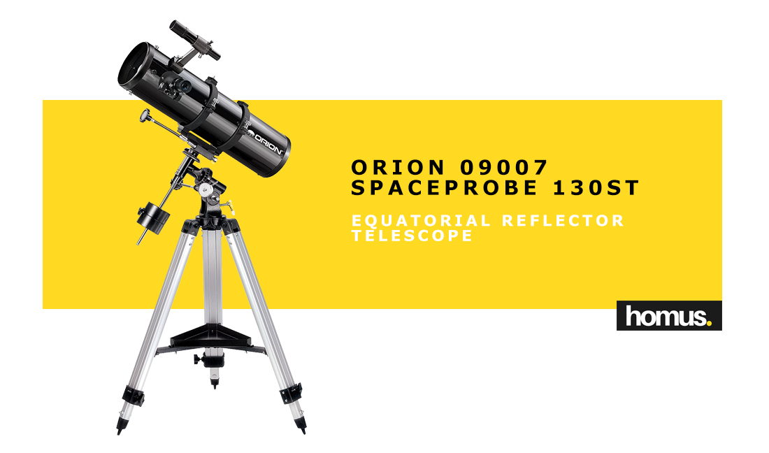 Orion 09007 SpaceProbe 130ST Equatorial Reflector Telescope