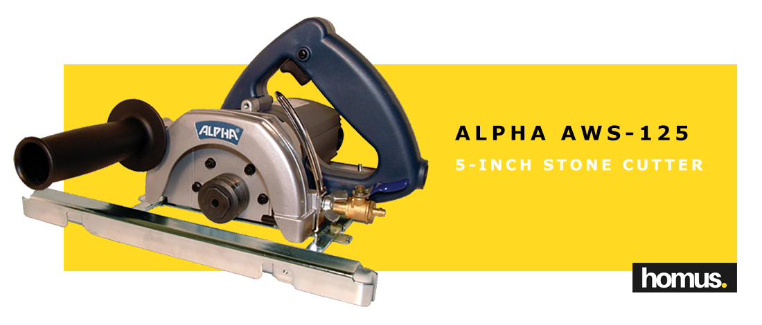Alpha AWS-125 5-Inch Stone Cutter