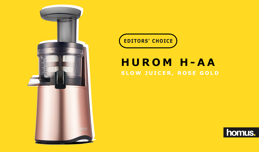 Hurom H-AA Slow Juicer, Rose Gold