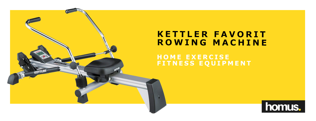 Kettler Home Exercise Fitness Equipment Favorit Rowing Machine