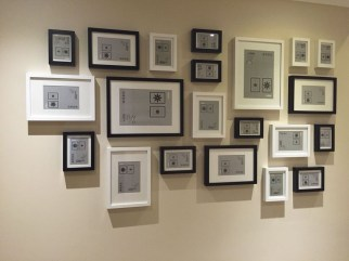 Awesome Gallery Wall Design Ideas 12