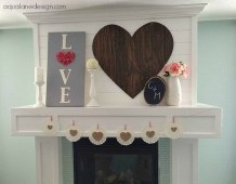Beautiful Valentine Wall Decor And Color Ideas 07