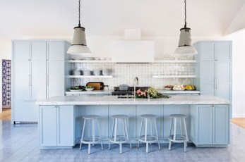 Inspiring Blue And White Kitchen Color Ideas 04