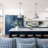 Inspiring Blue And White Kitchen Color Ideas 06