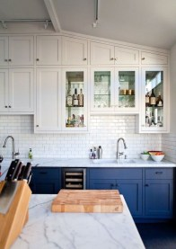 Inspiring Blue And White Kitchen Color Ideas 12