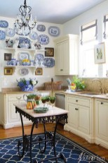 Inspiring Blue And White Kitchen Color Ideas 13