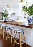 Inspiring Blue And White Kitchen Color Ideas 17