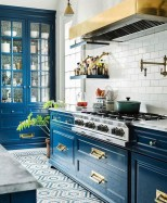 Inspiring Blue And White Kitchen Color Ideas 18