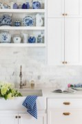 Inspiring Blue And White Kitchen Color Ideas 30