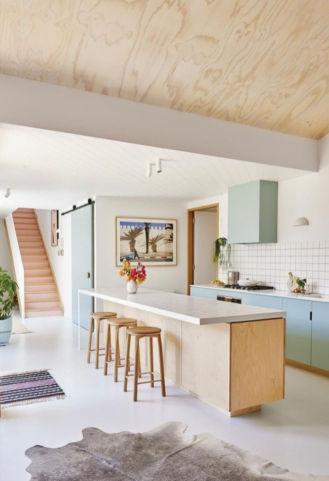 Inspiring Blue And White Kitchen Color Ideas 31