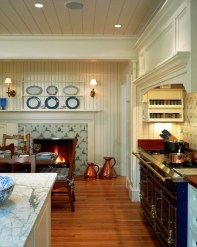 Inspiring Blue And White Kitchen Color Ideas 38