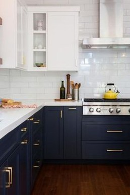 Inspiring Blue And White Kitchen Color Ideas 39
