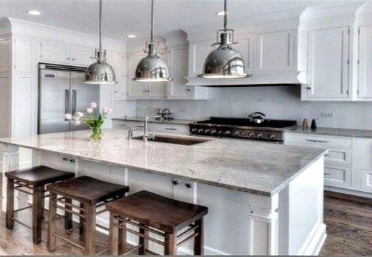 Stunning White Kitchen Design Ideas 21